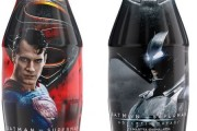 Batman ve Superman Coca-Cola şişelerinde!